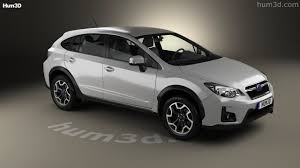 black subaru crosstrek 360 view of subaru xv 2016 3d model hum3d store