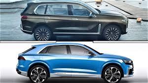 bmw x7 vs audi q7 2018 bmw x7 vs audi q8 concept 2018 bmw x7 vs audi q8 concept