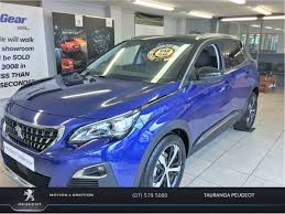 peugeot crossover used peugeot 3008 suv allure petrol 2017 used peugeot new zealand