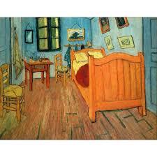 la chambre d arles la chambre à arles par vincent gogh reproduction peinture à l