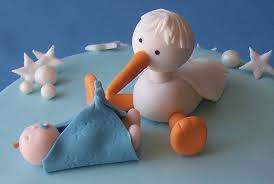 stork cake topper cupcakes toppers a gallery on flickr