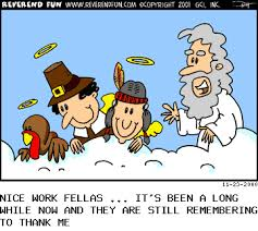 thanksgiving humor heaven sent
