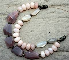 handmade necklace design images Sun and sand summer in a necklace big skies jewellery jpg