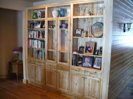 hand crafted white cedar wall unit by harry s cabin furniture custom made white cedar wall unit