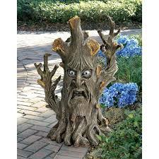 design toscano bark the black forest ent tree garden statue