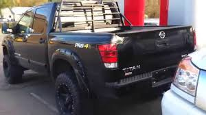 nissan frontier king cab roof rack derek u0027s 2014 nissan titan pro4x lifted youtube