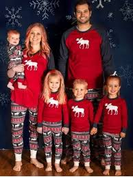 m elk deer matching family pjs set rosegal