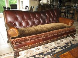 Leather Cloth Sofa Sofa Leather And Cloth Beautiful Traditional Modern Living Room