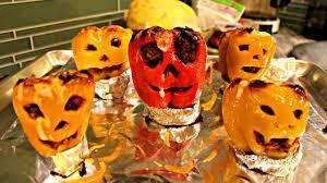 jack o lantern stuffed peppers halloween recipe edition youtube
