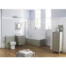 hudson reed stone grey vanity unit ldf403 600mm floor