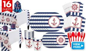 nautical party supplies striped nautical party supplies party city
