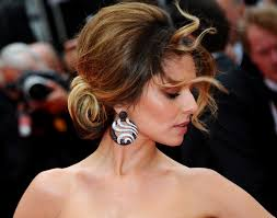 wind whips through cheryl cole u0027s updo hairstyle at the cannes film