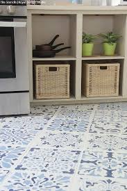 Kitchen Tile Floor Designs How To Stencil A Tile Floor In 10 Steps Kitchen Bathroom Floor