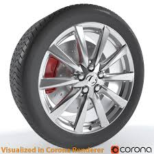 lexus ice wheels video lexus is f wheel by m190393 3docean