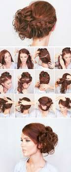 step to step hairstyles for medium hairs 60 easy step by step hair tutorials for long medium and short