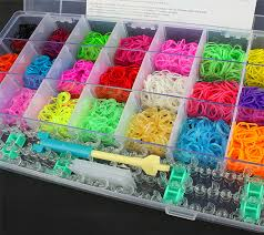 bracelet rubber bands maker images 2018 rubber bands diy bracelet making kit case for rainbow loom jpg