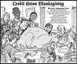 thanksgiving wishes 2014 credit union thanksgiving cartoon