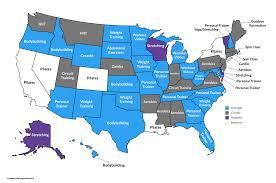 Map Diet The Most Popular Fitness And Diet Trends By State In 2017