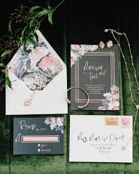 floral wedding invitations gorgeous floral wedding invitations martha stewart weddings