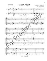 12 christmas duets trumpet duet arr j w pepper sheet music