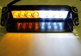 universal led strobe warning lights led emergency light bar