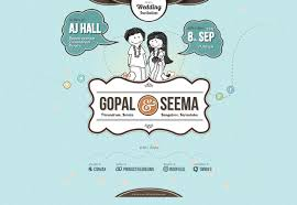 best wedding invitation websites 25 wonderful wedding websites webdesigner depot