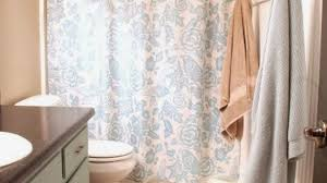 Shower Curtain For Curved Rod Awesome Curved Shower Curtain Rods Bring Luxury To Small Bathrooms