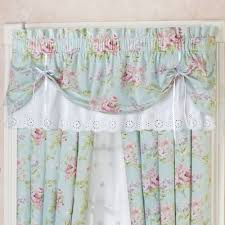 Tie Up Curtains Shocking Cottage Tie Up Valance Floral Window Treatment Of