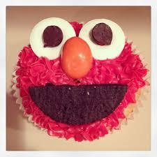 elmo cupcakes shabou elmo cookie cupcakes
