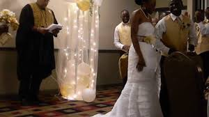 jumping the broom wedding jumping the broom ken wedding