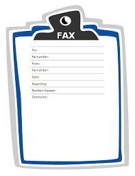free fax cover sheet thumbnail projects to try pinterest