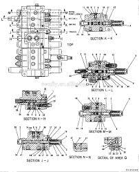 best price ex300 5 hydraulic control valve ex300 5 excavator