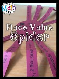 numbers are creepily flexible halloween place value craft easily