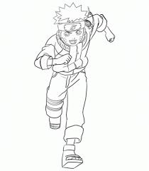 coloring pages anime naruto cartoon coloring pages of