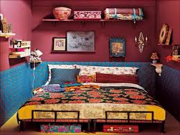 bedroom round table skirts bedroom boho bed canopy hippie style