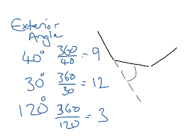 Interior And Exterior Angles Worksheet Showme Exterior Angle Of Regular Pentagon