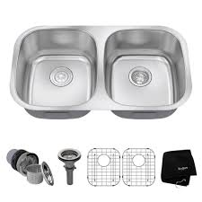 stainless steel double sink undermount outstanding stainless steel double sink undermount 38 kitchen within