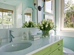 67 Cool Blue Bathroom Design Ideas Digsdigs by Spare Bedroom Mint Watery Blue Green Walls Grey Accents Fy Bed I