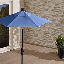 Patio Umbrella And Stand by Outdoor Patio Umbrellas Crate And Barrel