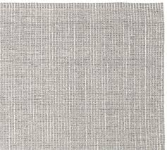 Pottery Barn Gabrielle Rug Chunky Wool And Jute Rug Gray Ivory Pottery Barn