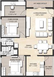 House Design In 2000 Square Feet by House Plan 1500 Sq Ft House Plans In India Free Download 2 Bedroom