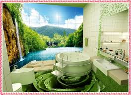 bathroom wall mural ideas 2016 bathroom wall decoration ideas amazing bathroom floor and