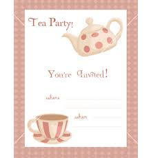 free template tea party invitation u2013 orderecigsjuice info