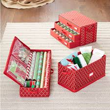 Christmas Ornament Storage Drawers by Holiday 3 Drawer Ornament Chest The Container Store