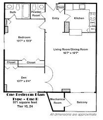 Lakeside Floor Plan Lakeside Plaza Condominiums Floor Plans