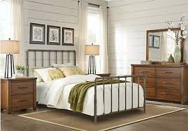 metal bedroom furniture urban plains rustic bedroom furniture collection