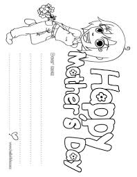 inspiring mothers day coloring pages cool ideas