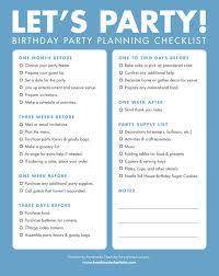 printable party planner checklist diy printable birthday party checklist handmade charlotte