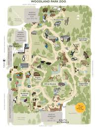 Oregon Zoo Map by Zoos Seattle Zoo