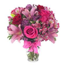send flower pink and bouquet at send flowers